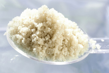 spoonful of Guérande sea salt