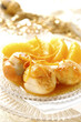 scallops with whisky and orange