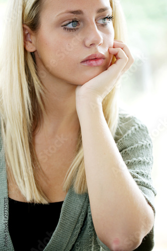 Teenage Girl Portrait. Model Released