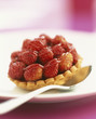 Wild strawberry tartlet