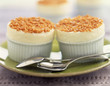 Chilled soufflée with peanuts