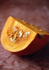 Quarter of a pumpkin