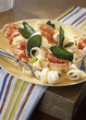 Tagliatelles with grilled bacon and sage