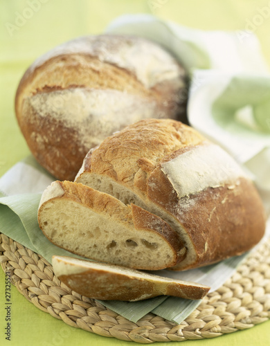farmhouse loaf of bread