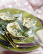 browned oysters with champagne