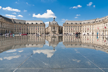 Palais de la Bourse at Bordeaux, France