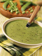 Light cream of peas