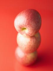 Pile of fuji apples