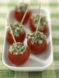 Cherry tomatoes stuffed with anchovies