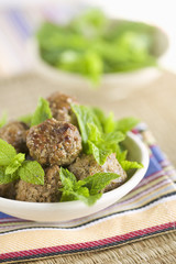 meatballs with mint
