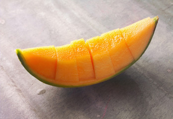 slice of melon