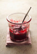 Started pot of raspberry jam