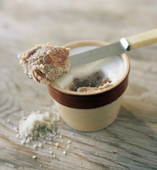 Potted rillettes