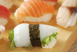Ika squid Sushi and Shiso