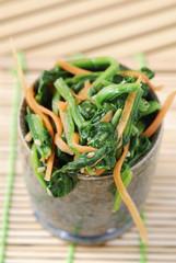 Japanese marinated spinach