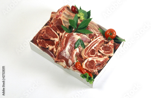 meat from half a lamb