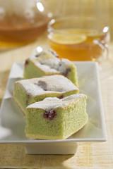 Soft pistachio cake