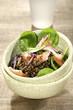 Haddock and lentil salad