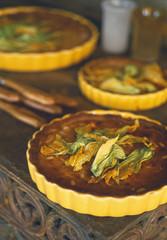 Courgette pie