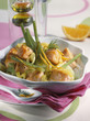 Salmon and fennel tajine