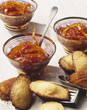 Grapefruit marmelade and Madeleines