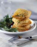 Cheese and herb croquettes