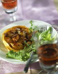 Onion tartlette