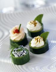 Cucumber Canapés
