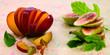 Nectarine and figs