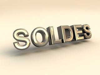 Soldes metal