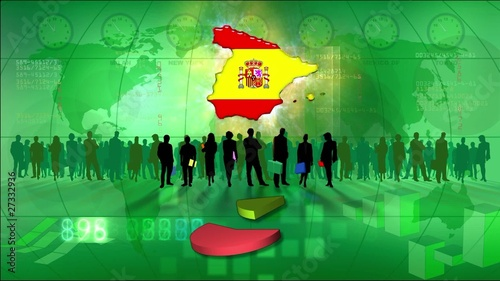 Work team Spain, statistics green