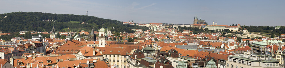Panorámica de Praga