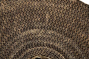 cardboard packing texture carton in brown