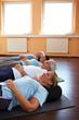 Entspannung im Fitnesscenter
