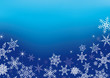Eiskristalle - Snowflakes - Hintergrund