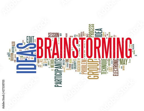 poster of Brainstorming Concepts