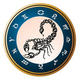 Zodiac signs - Scorpio poster