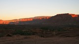 Time lapse sunrise over Capitol Reef NP, Utah