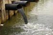 Leinwanddruck Bild - water pollution