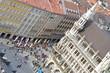München Marienplatz von oben