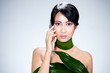 femme asiatique beauté nature