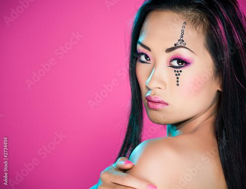 femme asiatique beauté