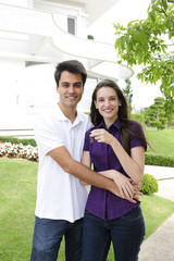 Homeowner: Couple buying a new house