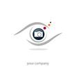 logo photographe, oeil, photographie