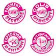 set d'icones / boutons vente en ligne