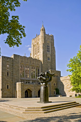 Princeton University Firestone Library.