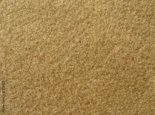 Texture of soft brown fleecy fabric