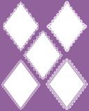 rhombus frame poster