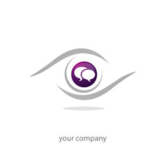 logo entreprise, icône forum