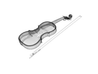 violino disegnato